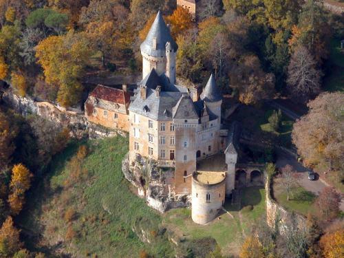 Ch teau de la roque des p agers for Chateau la roque